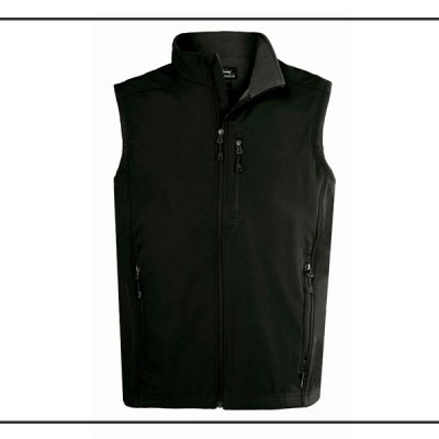 Vest sort softshell