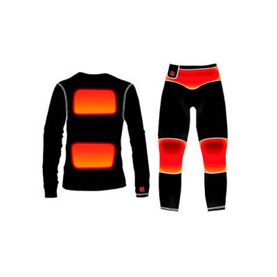 Tøj med indbygget varme